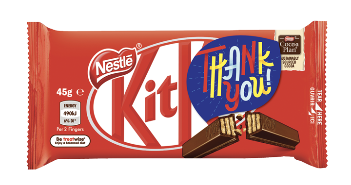 KitKat Thank You to Healthcare Workers