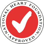 Heart Foundation Tick Approved