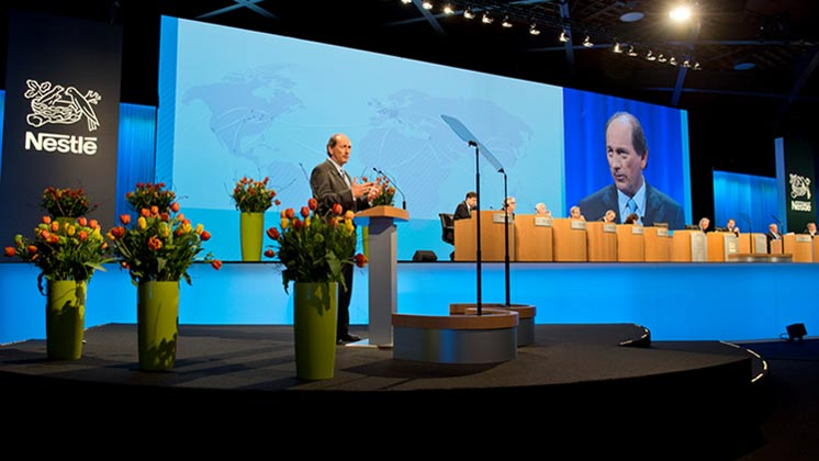 Nestlé's 146th Annual General Meeting