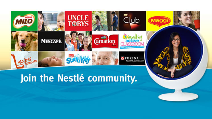 Join the Nestlé community