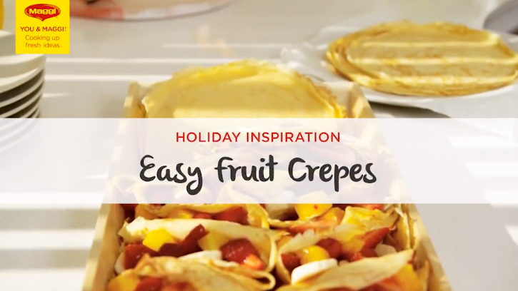 Maggi Easy Fruit Crepes