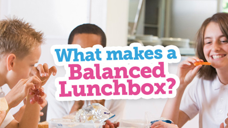 What makes a balanced lunchbox?