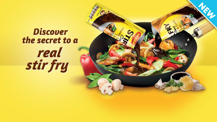 Create easy, tasty meals with MAGGI Stirfry Creations