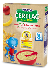 CERELAC Muesli with Banana & Apple - 200g